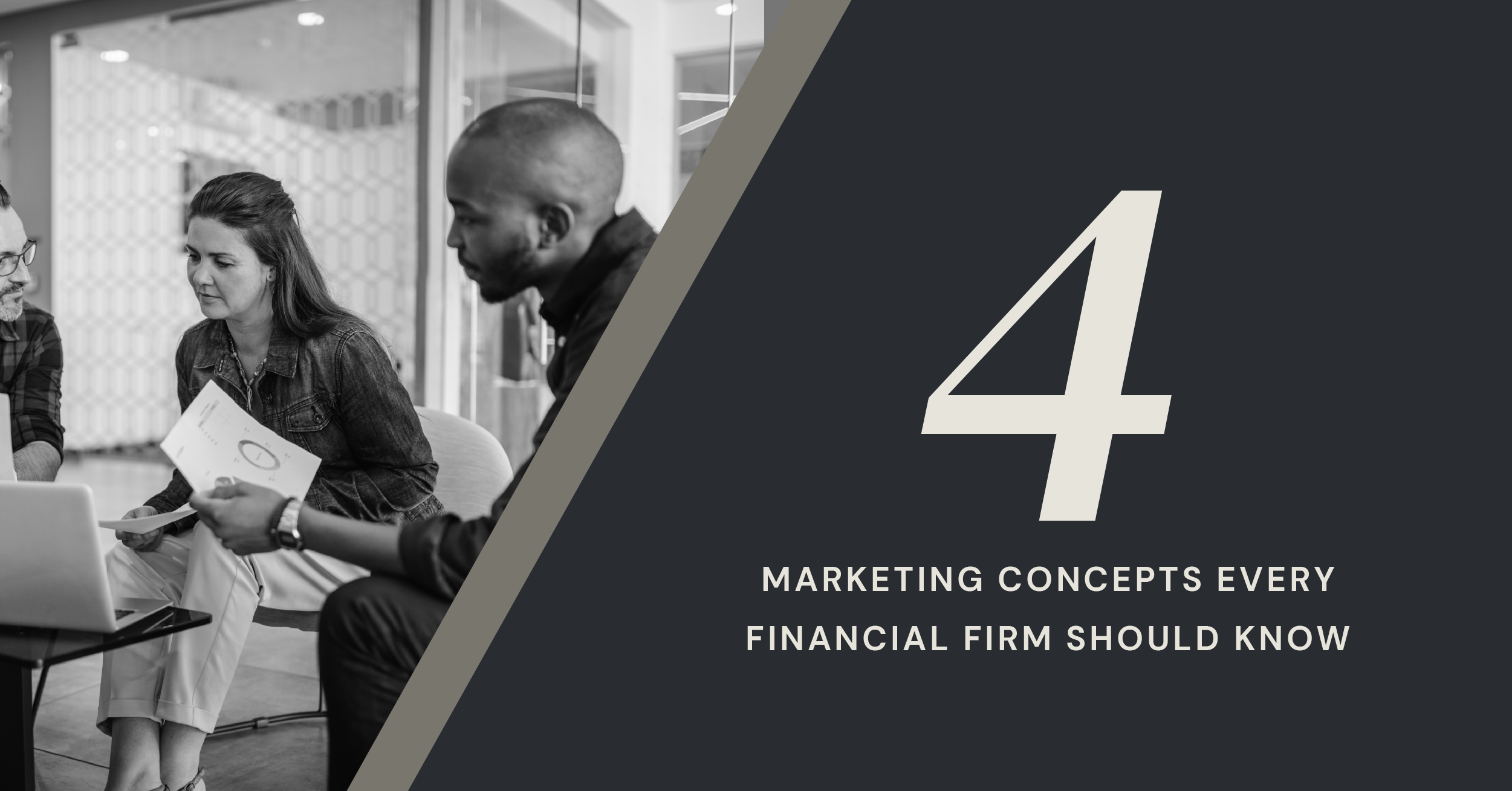 marketing concepts for financial firms