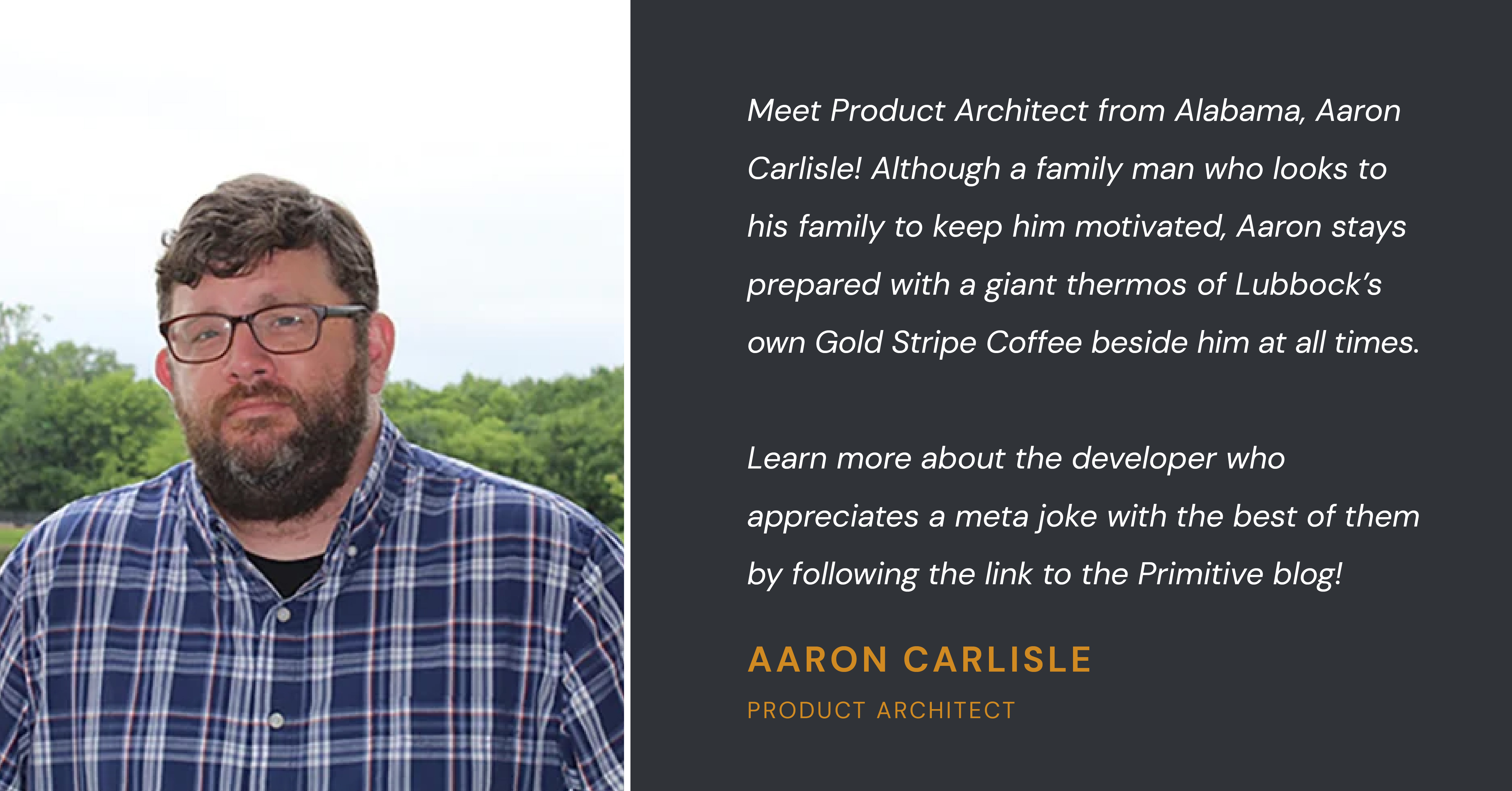 Aaron-Carlisle-Product-Architect