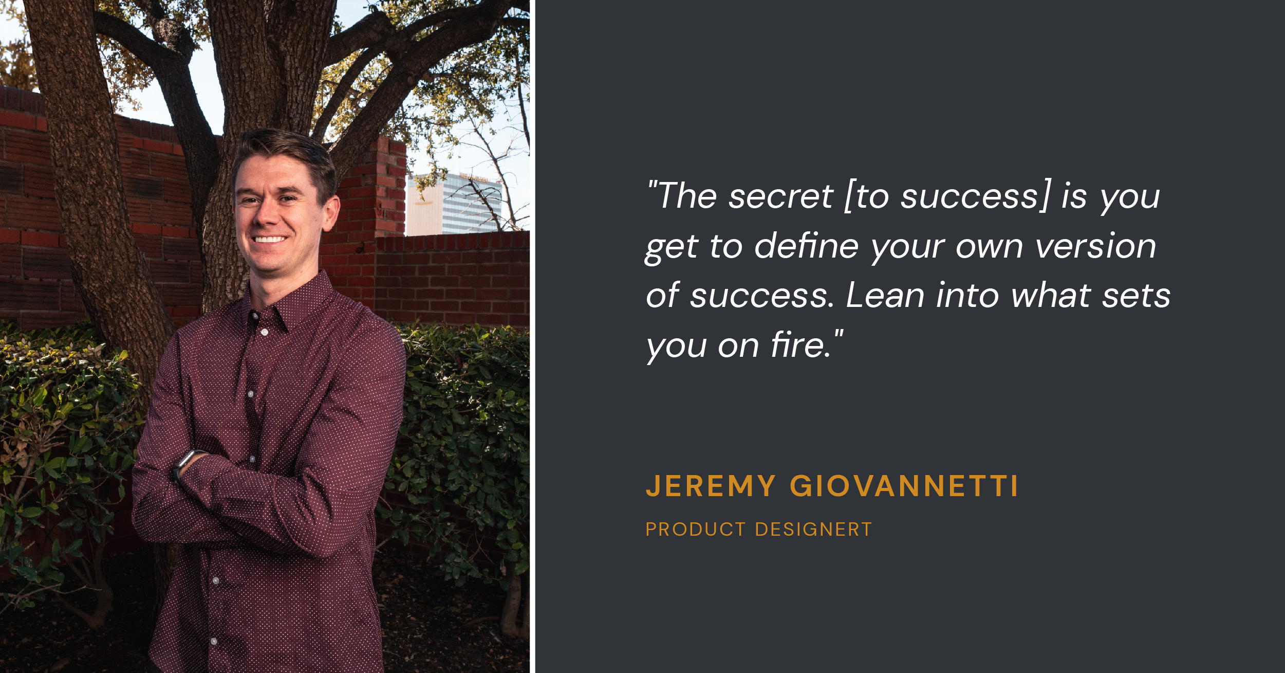 Jeremy GiovannettiProduct Designer