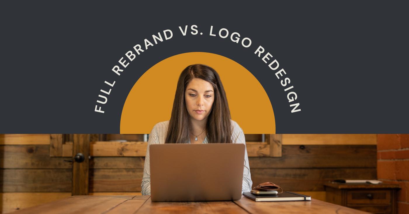 rebranding vs new logo