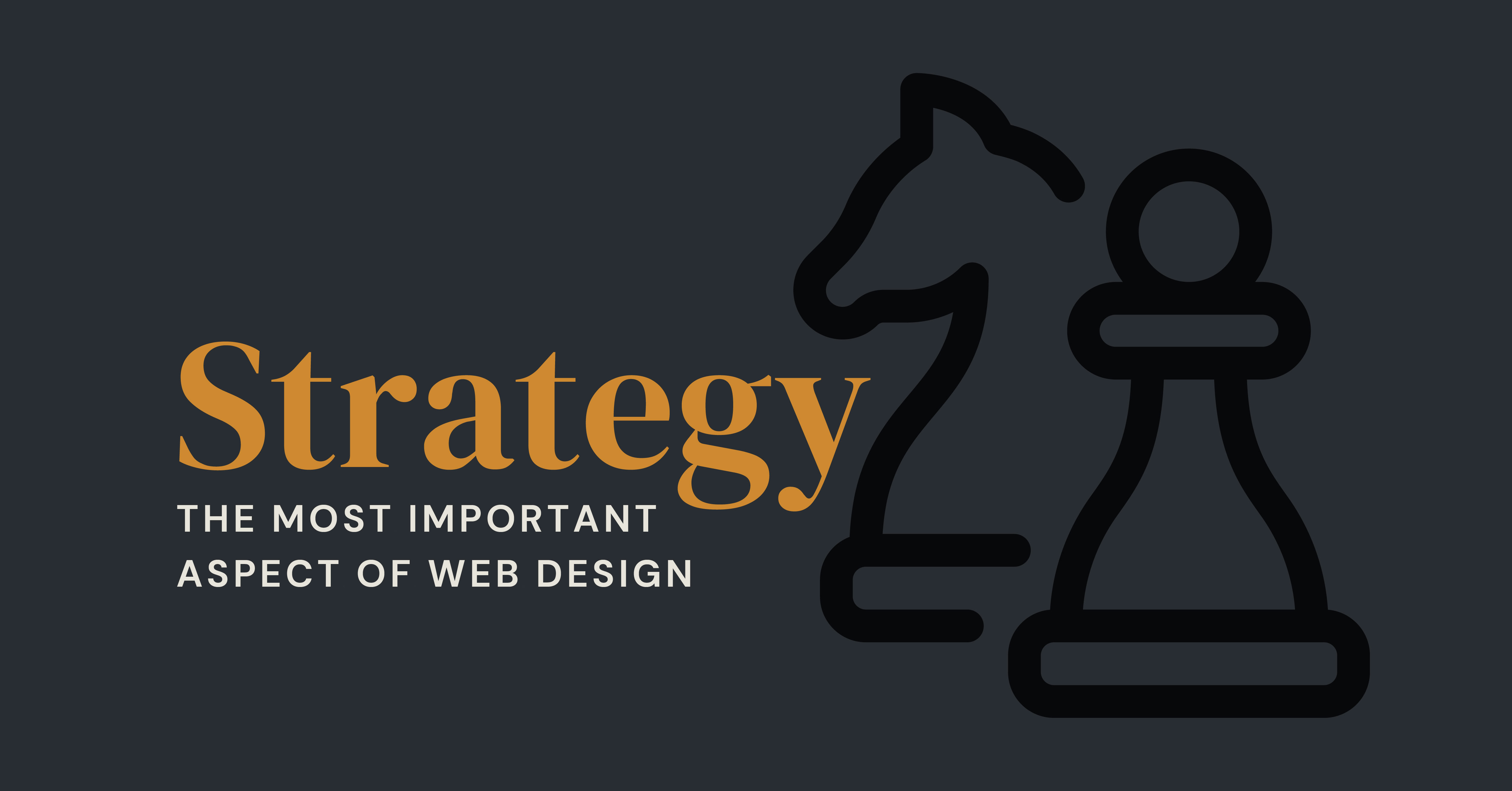 strategy in web design