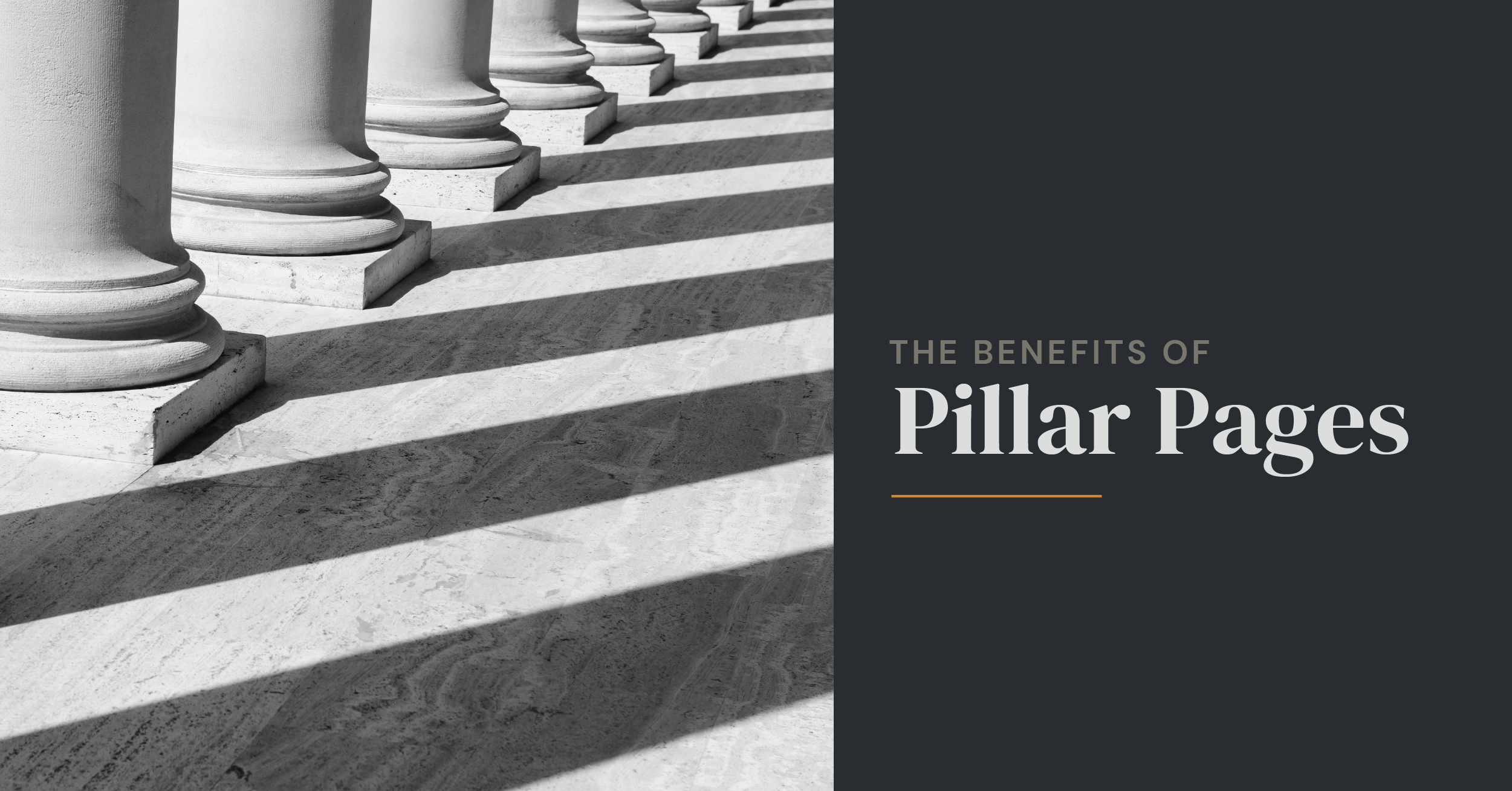 benefits of pillar pages