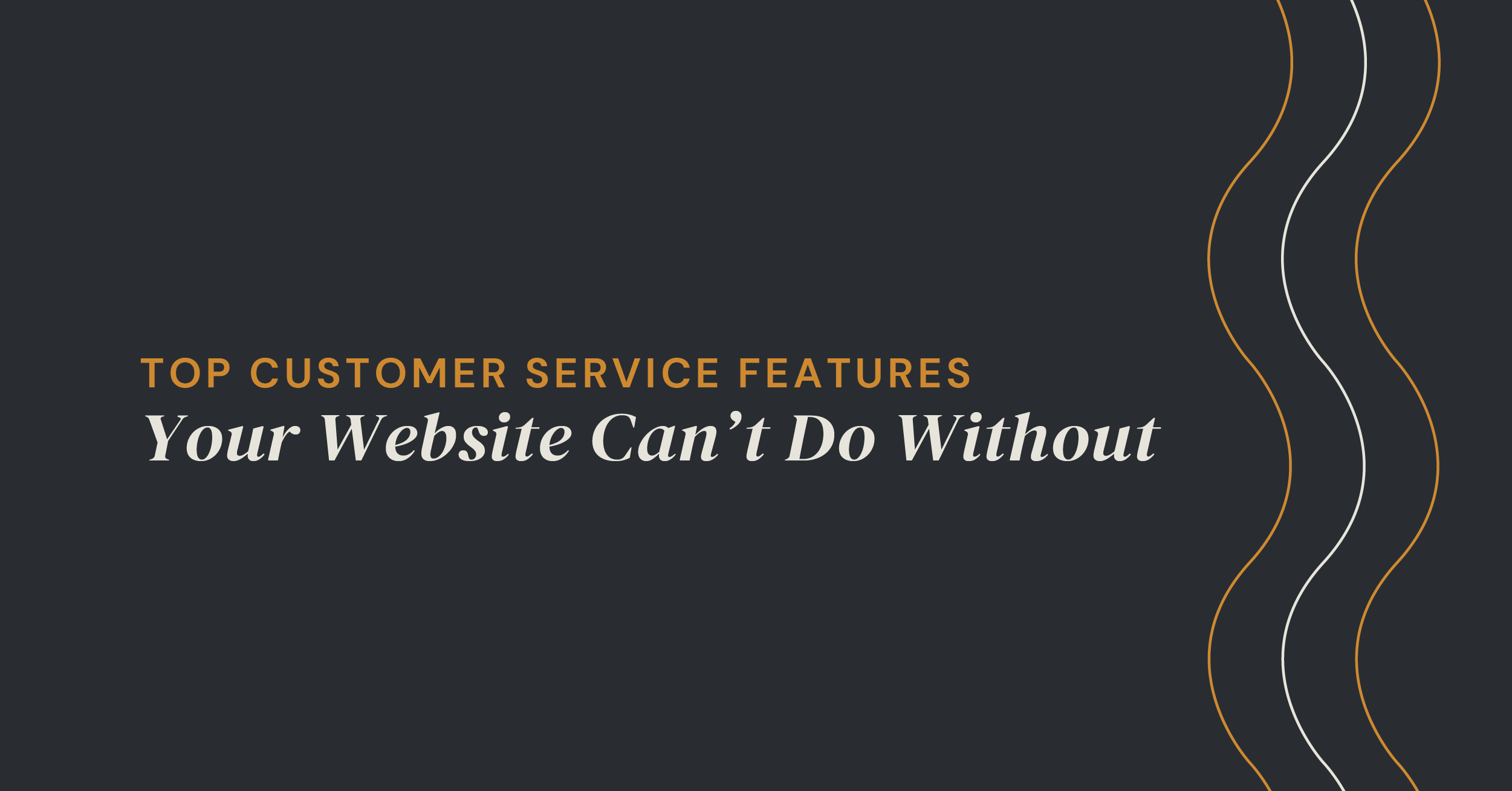 customer service for your website