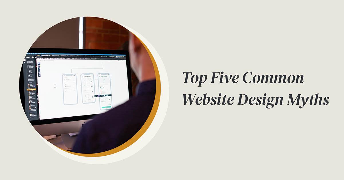 website design myths