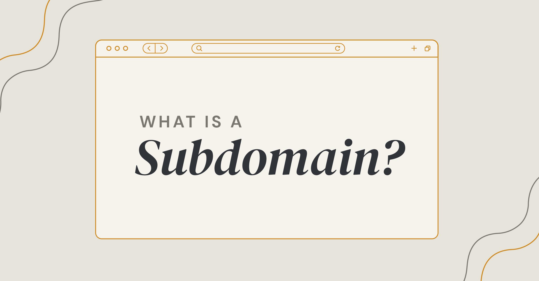 defining a subdomain