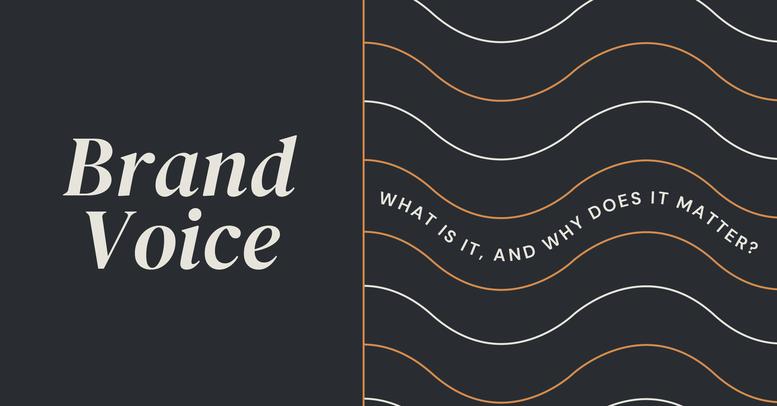Brand Voice - Why it Matters