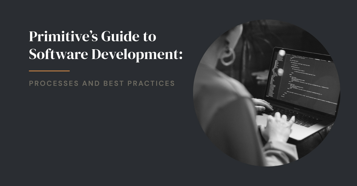 Primitive's Guide to Software Development: Processes and Best Practices