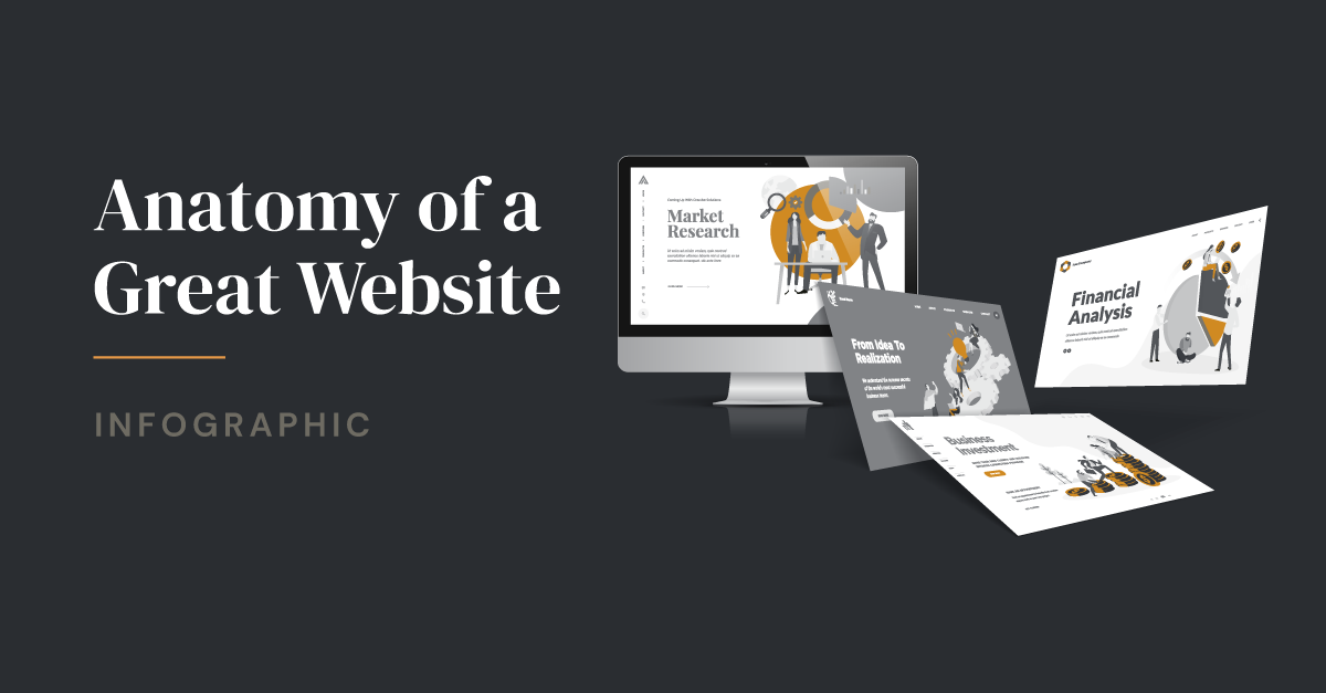 Anatomy of a Great Website | Infographic