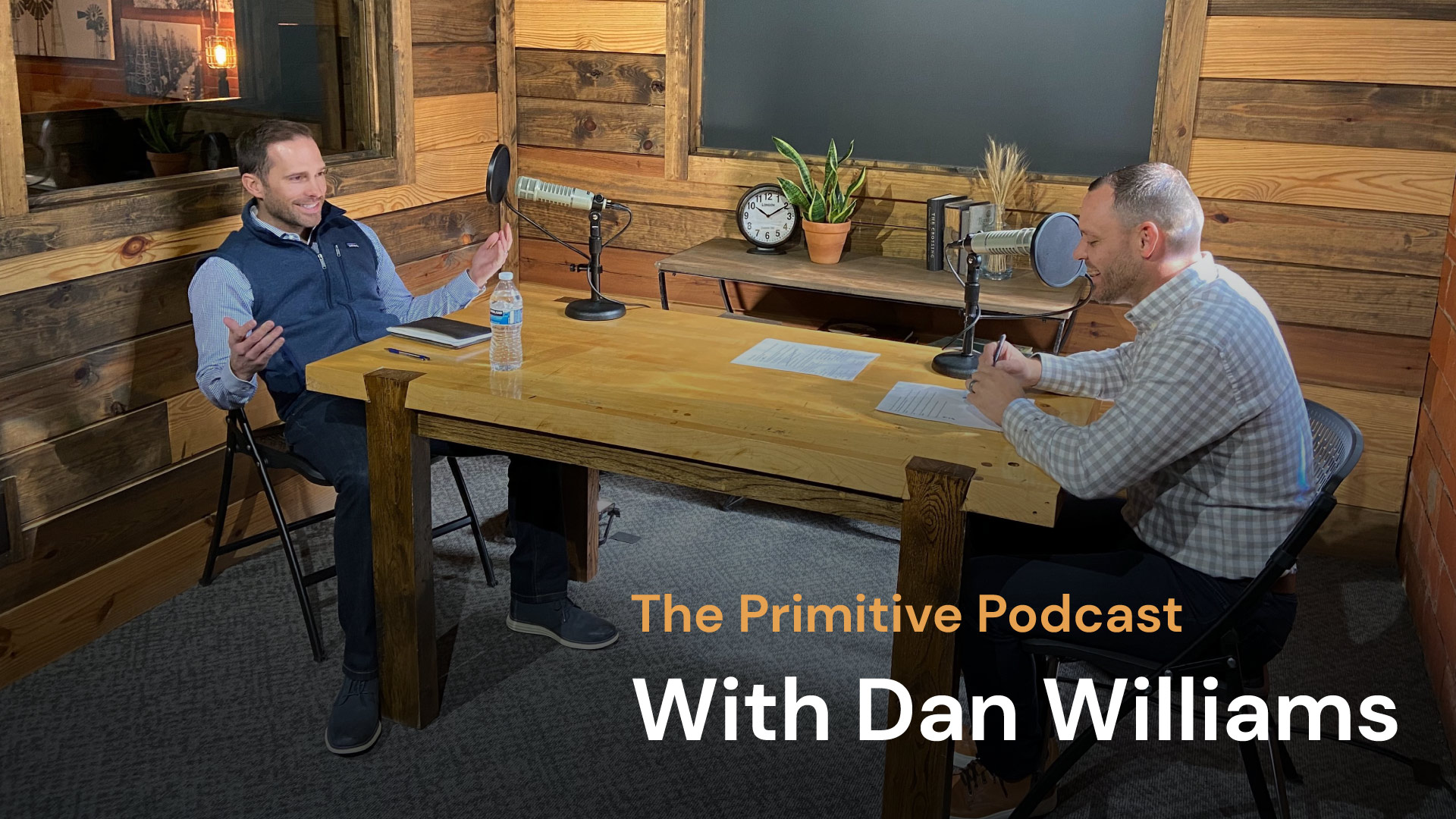 The Primitive Podcast: Dan Williams