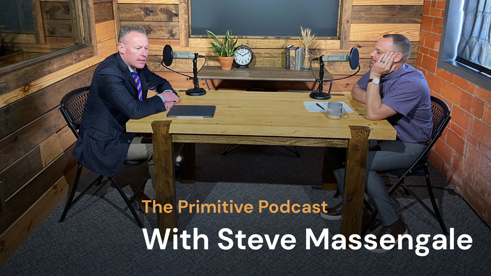 The Primitive Podcast: Steve Massengale