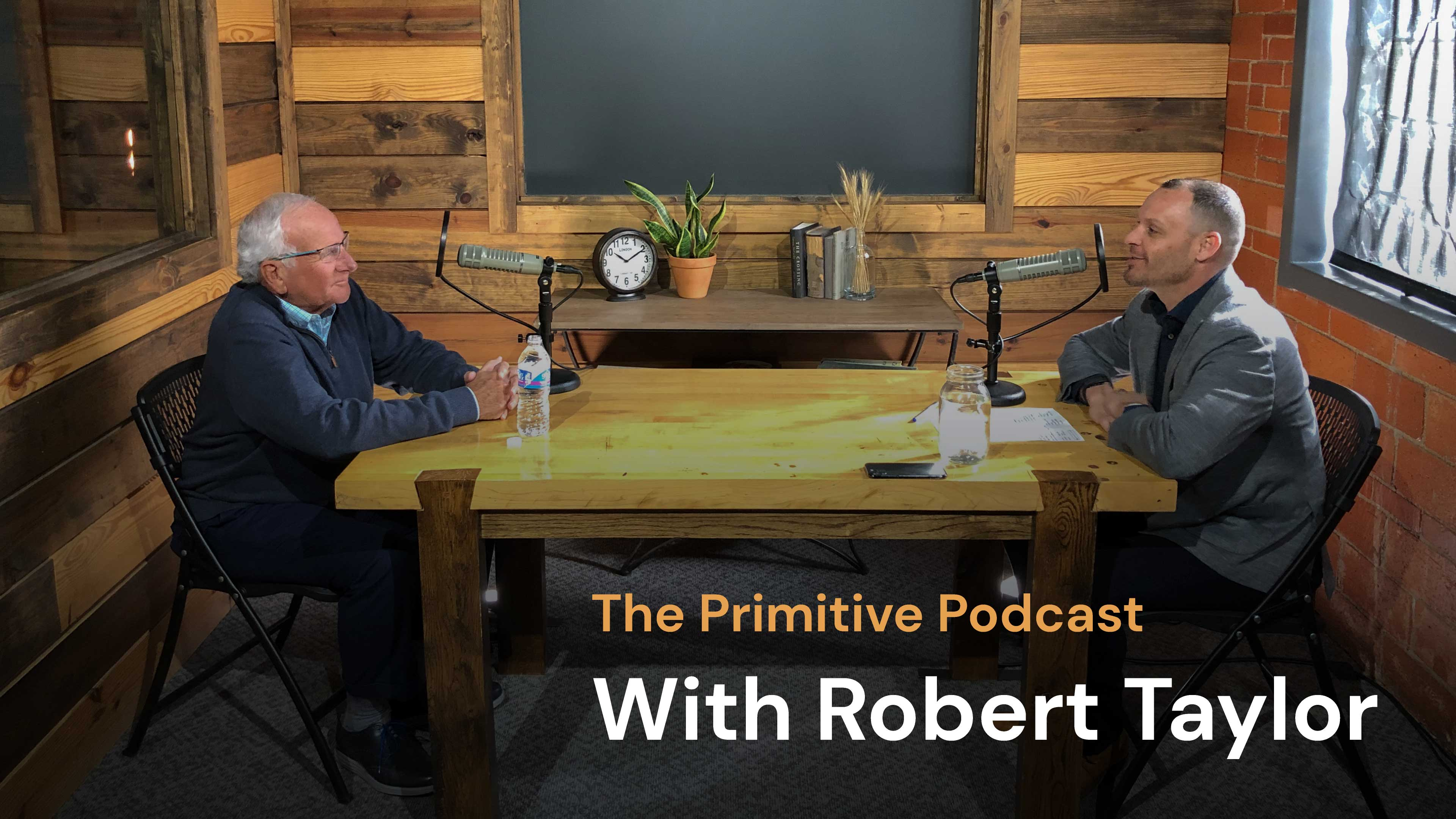 The Primitive Podcast: Robert Taylor